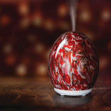 Ruby Marble Clearance Essential Oil Diffuser