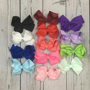 Cute Boutique Baby Bows on Headband 6 inches