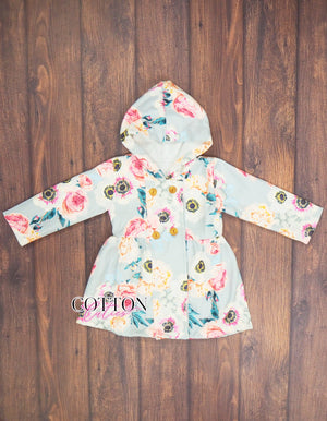 Girls Peacoat Jacket