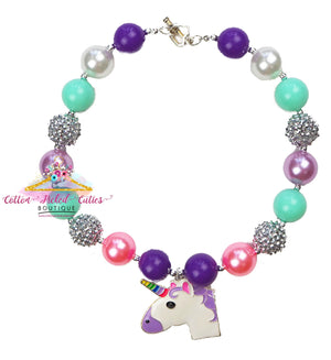 Unicorn Necklace - Cotton Picked Cuties Boutique