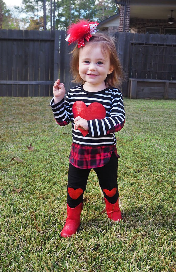 Sweetheart Outfit - Cotton Picked Cuties Boutique