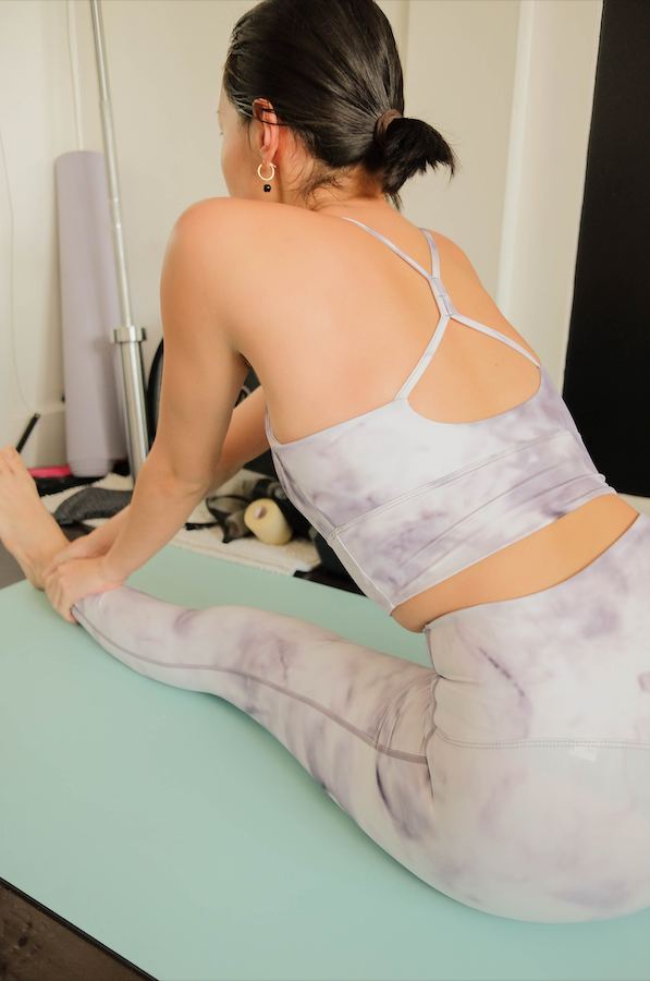 HOT SHOT SET in Tie Dye Lavender