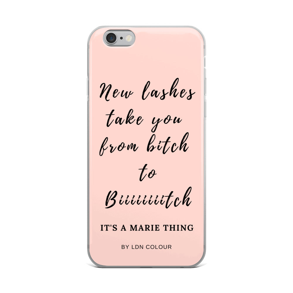 Bitch iPhone case