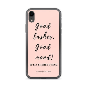 Good lashes iPhone case