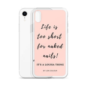 Naked nails iPhone case