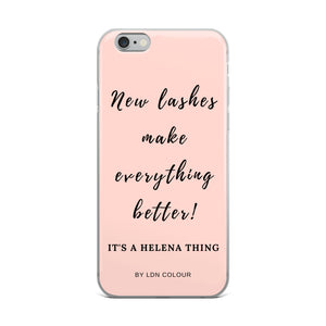 New lashes iPhone case