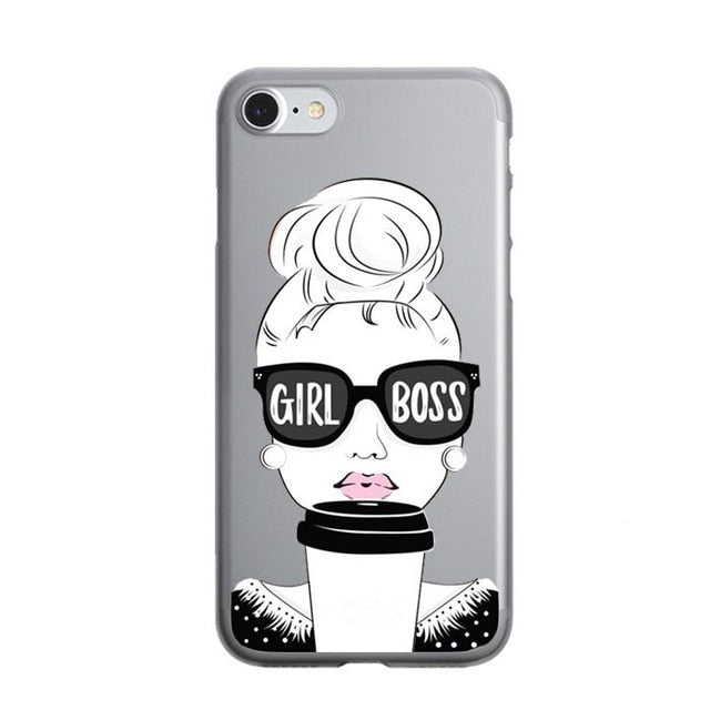 Girl Boss iPhone Case