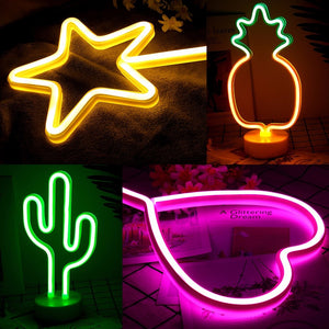Desk Neon Sign Light