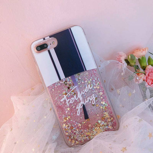 Glitter Liquid Quicksand iPhone Case