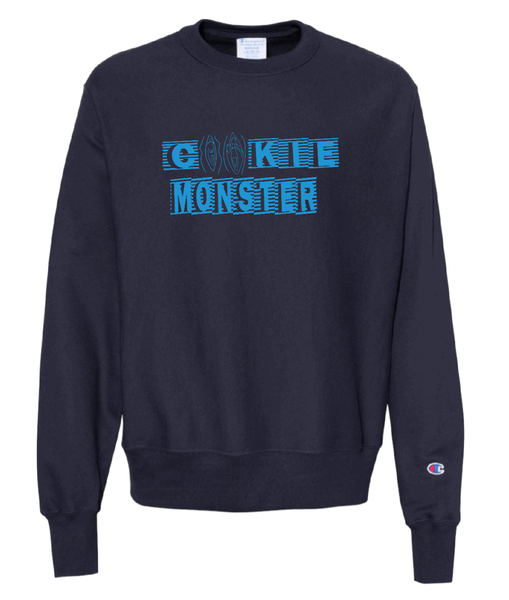 Champion Cookie Monster Crew Neck Sweatshirt