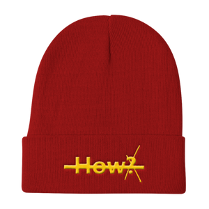 "Forget the ""How?""  Beanie"