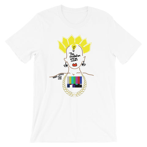 The Revolution Will Be Inside(White Tee)