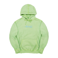 Classic Logo Embroidered Hoodie Light Green