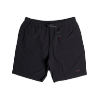 Shell Packable Nylon Shorts Black