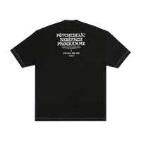Psychedelic Research Programme T-Shirt Black