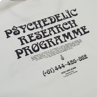 Psychedelic Research Programme T-Shirt White