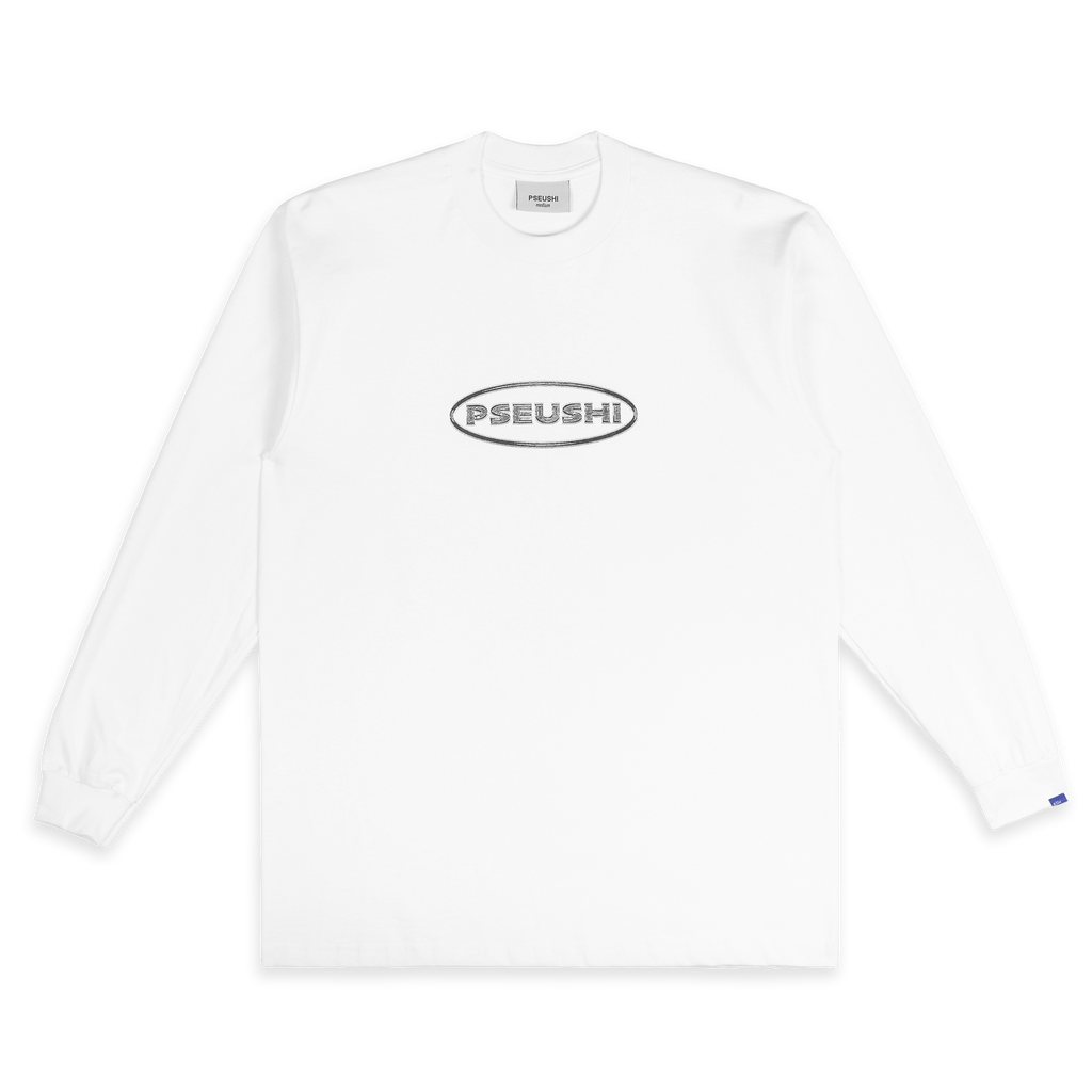 Chrome Logo Tee White