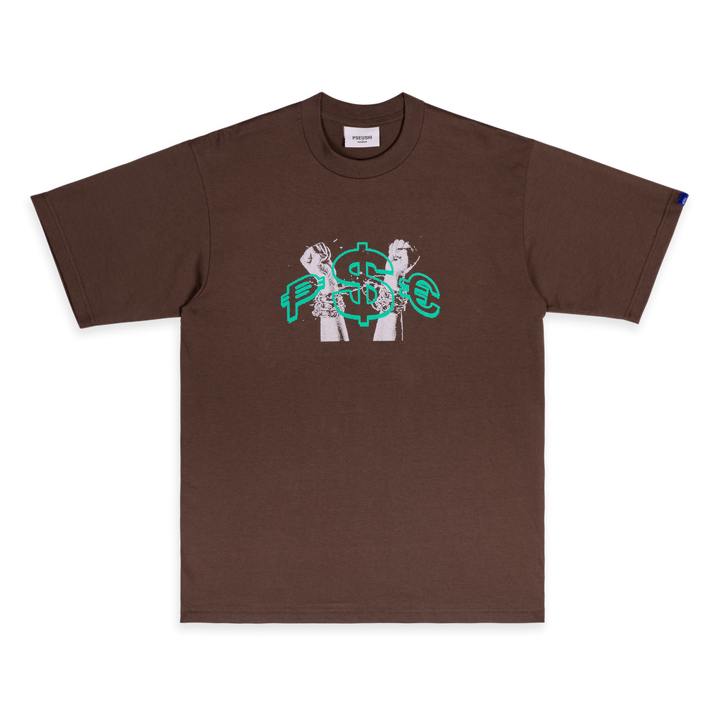 Currency Tee Brown
