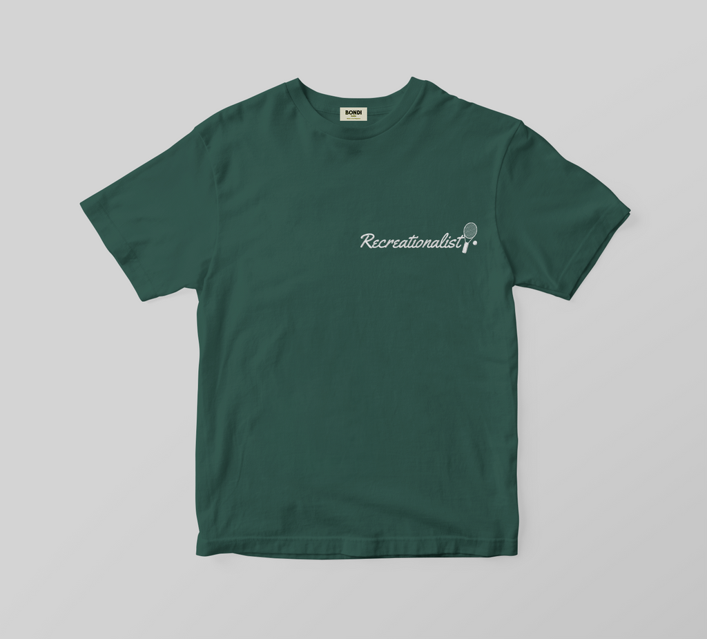 Recreationalist Racket Logo Unisex Tee