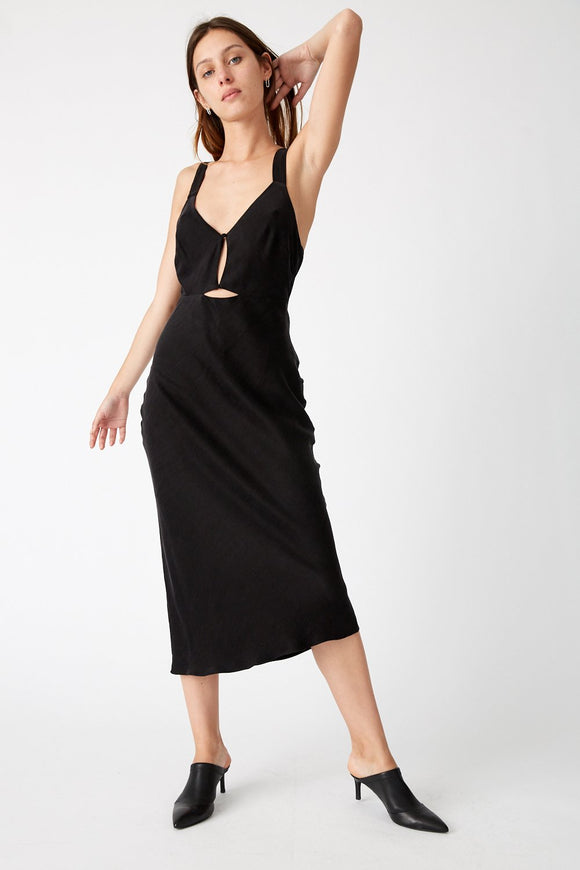 Intrigue Bias Slip Dress
