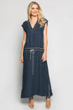 Jairo Dress in  Navy