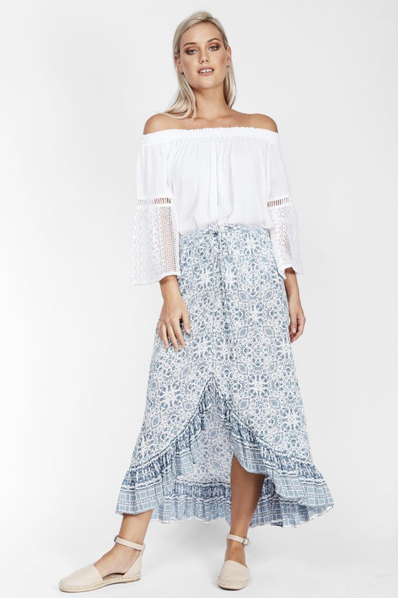 Indio Flower Skirt