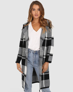 Brixton Check Coat
