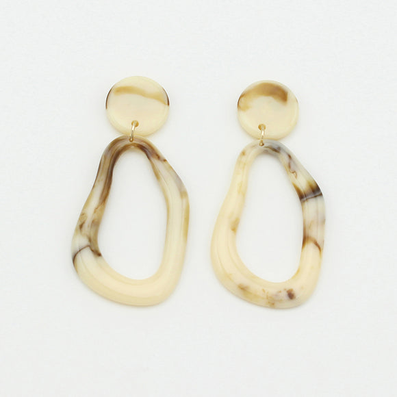Latte Drop Earrings