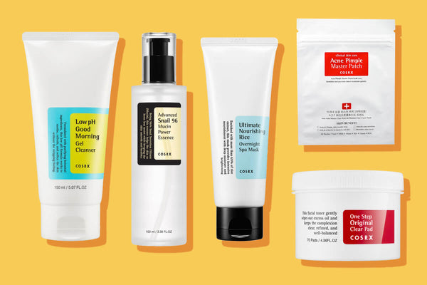 COSRX Best-Selling Korean Beauty Products