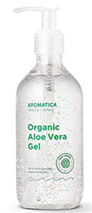 Aromatica 95% Organic Aloe Vera Gel natural soothing moisturizer vegan k beauty world