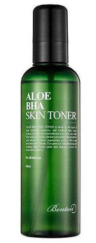 Benton Aloe BHA Skin Toner for oily acne combination skin blackheads k beauty world