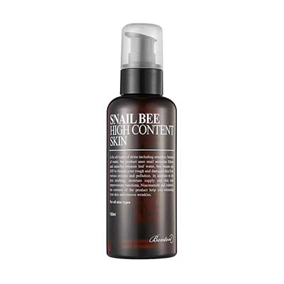 Benton Snail Bee high content skin toner for dry aging skin acne scars k beauty world