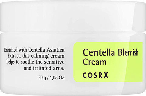 Cosrx Centella Blemish Cream spot treatment redness cyst zits soothing k beauty world