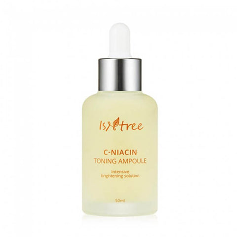 Isntree C-Niacin Toning Ampoule korean vitamin c niacinamide brightening k beauty world