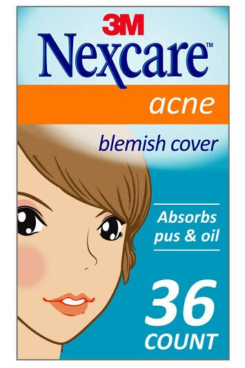 Nexcare Acne Absorbing Covers korean pimple patches k beauty world