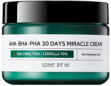 Some By Mi AHA BHA PHA 30 Days Miracle Cream redness inflamed skin k beauty world