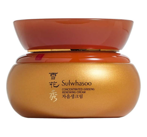 Sulwhasoo Concentrated Ginseng Renewing Cream anti-aging korean moisturizer dull skin mom k beauty world
