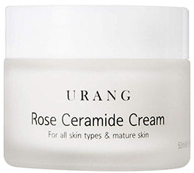Urang Rose Ceramide Cream  organic moisturizer vegan dry rough skin k beauty world