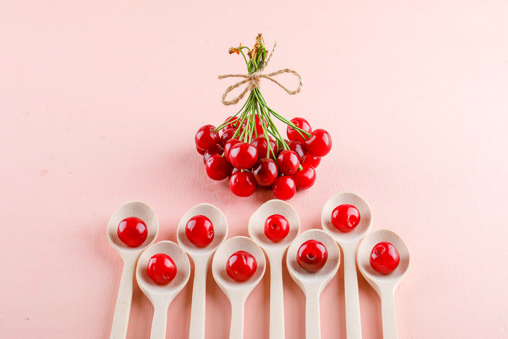 Cherries skincare cosmetics ingredients glowing healthy skin k beauty world