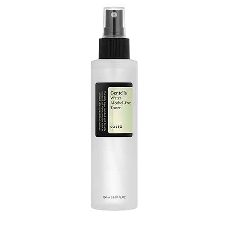 Cosrx Centella Water Alcohol-Free Toner for sensitive acne redness eczema Rosacea k beauty world
