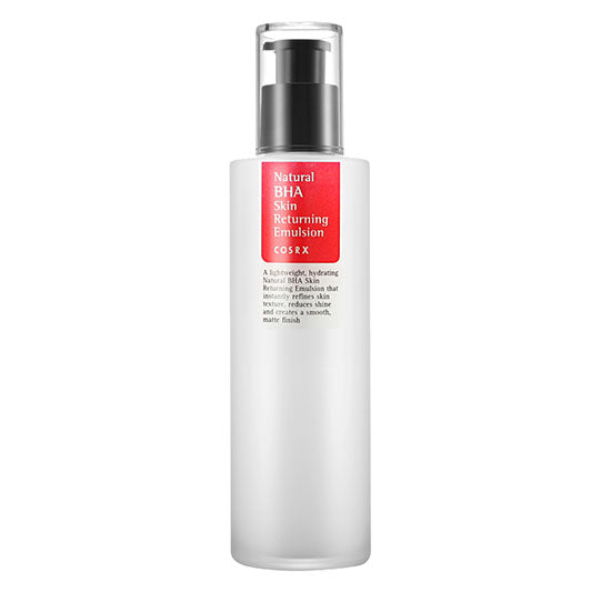 Cosrx Natural BHA Skin Returning Emulsion moisturizer k beauty world
