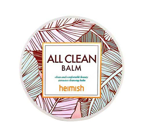 Heimish All Clean Balm cleanser double cleansing korean k beauty world