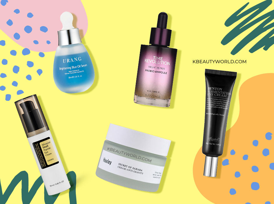 Best Korean Anti-Aging Skincare Products for 30's 40's k beauty world