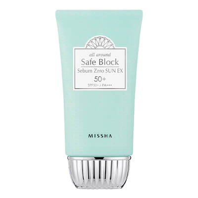 missha All Around Safe Block Serum Zero Sun korean sunscreen skin care k beauty world