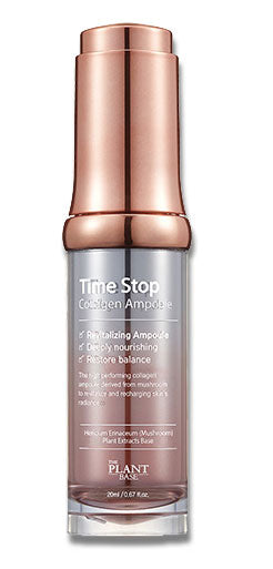 The Plant Base Time Stop Collagen Ampoule anti aging k beauty world