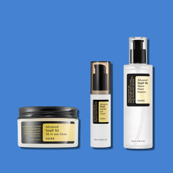 Cosrx Advanced Snail Skincare Routine Set - K Beauty World