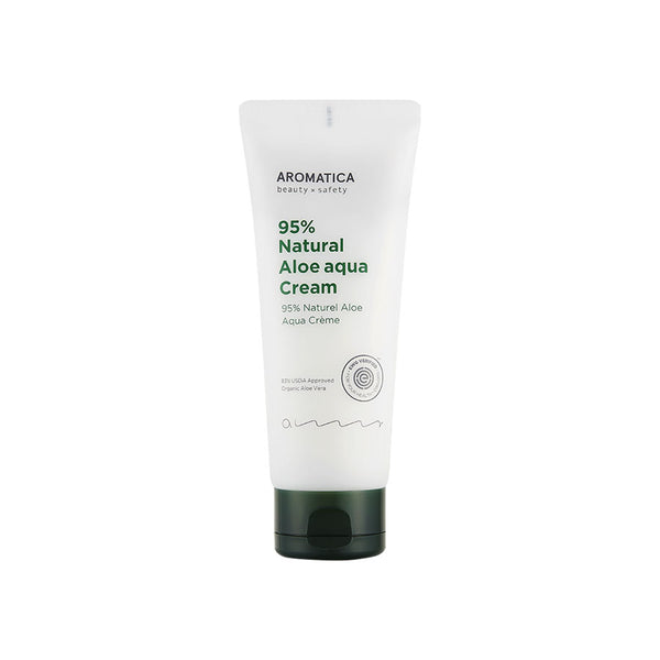 Aromatica 95% Natural Aloe Aqua Cream - K Beauty World