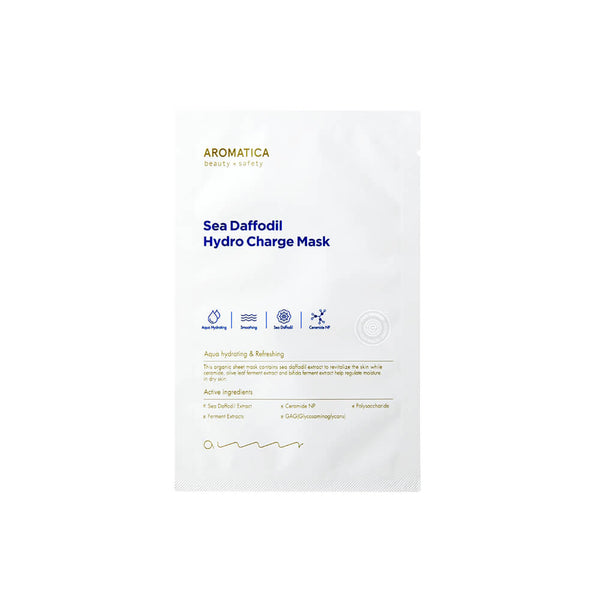 Aromatica Sea Daffodil Hydro Charge Mask 5ea - K Beauty World