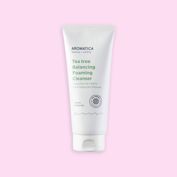Aromatica Tea Tree Balancing Foaming Cleanser - K Beauty World