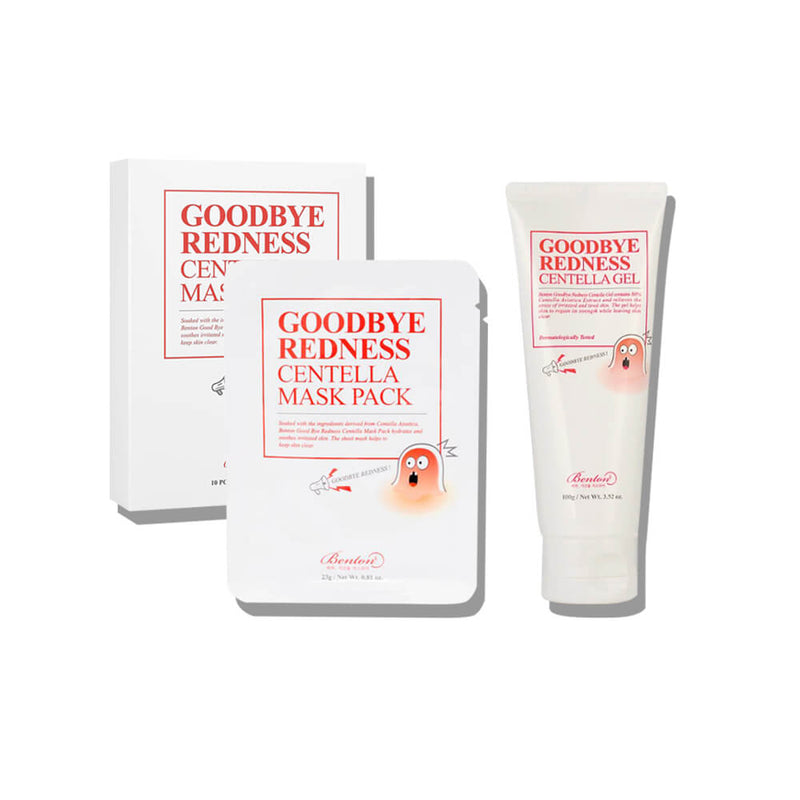 Benton Goodbye Redness Centella Set - K Beauty World